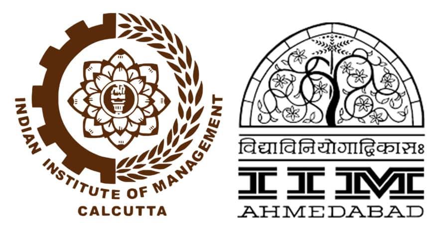 iim calcutta&ahamedabad