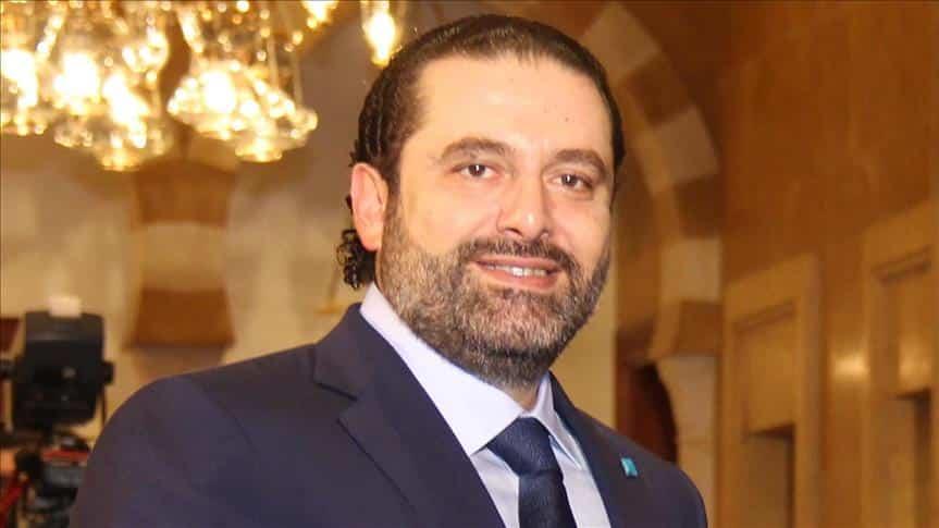 lebanon primeminister saad al hariri