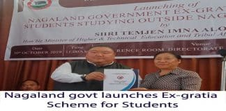 nagaland govt launches EX-gratia scheme