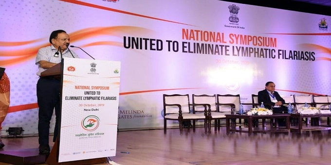 national symphosium dr.harsh vardhan