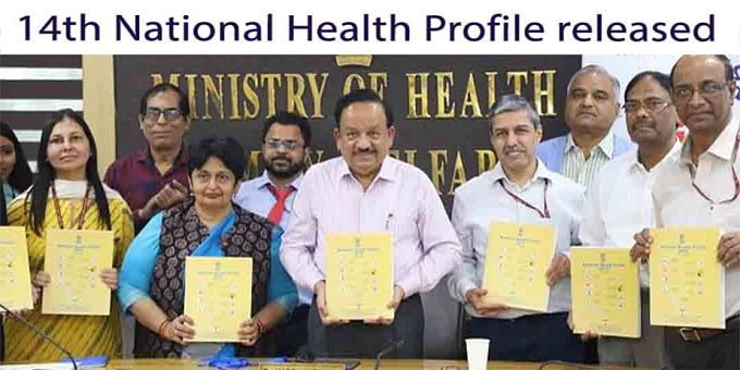 14th national health profile