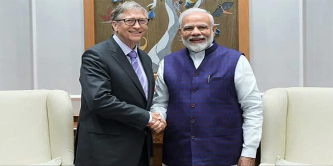 Bill Gates Visit india