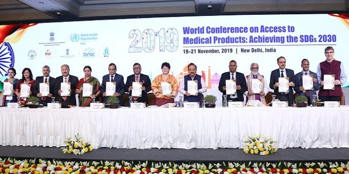Dr. Harsh Vardhan inaugurates '2019 World Conference on Access to Medical Products