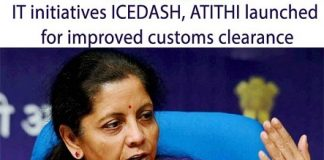 Finance Minister Launched ICEDASH & ATITHI