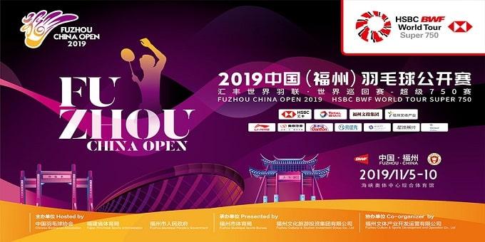 Fuzhou China Open title 2019