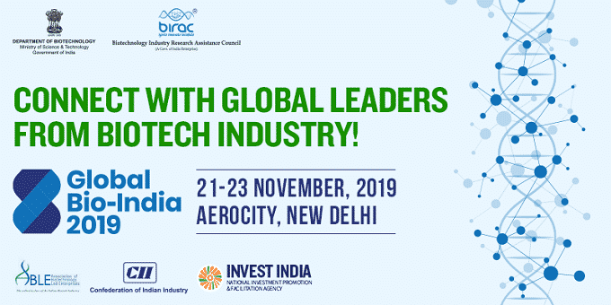 Global Bio-India Summit held in Delhi