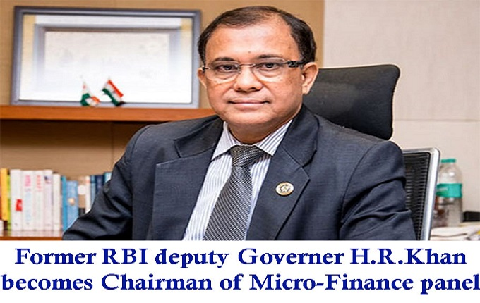 H R Khan becomes chairman of micro-finance panel