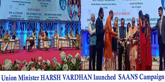 Harsh Vardhan launched SAANS campaign