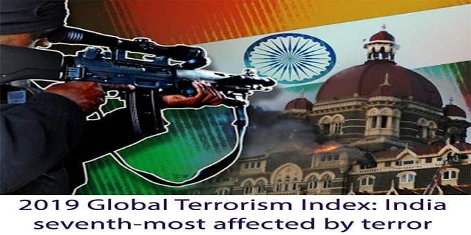India seventh-most affected by terror attacks in the 2019 - Copy