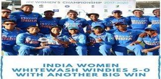 India won Women's T20 series against West West Indies - Copy