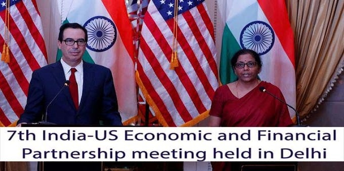 India&USA 7th economic & finance partnership