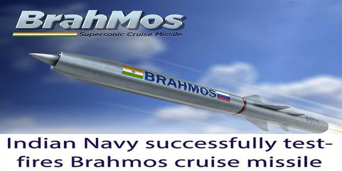 Indian Navy successfully test-fires Brahmos