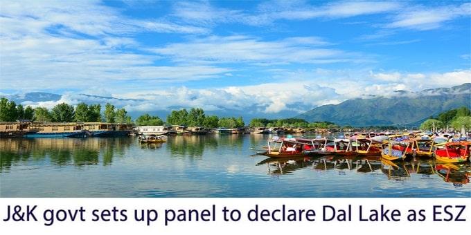 J&K govt sets up panel to declare Dal Lake