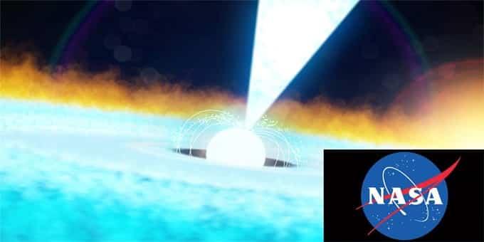 NASA detects huge X-ray burst