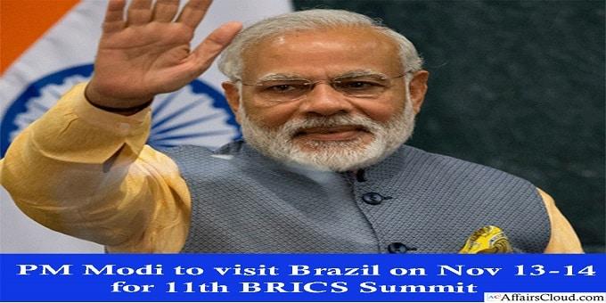 PM modi visit brazil