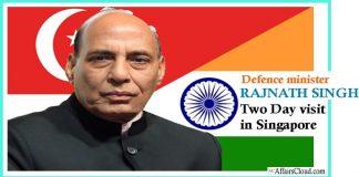 Rajnath Singh's two day visit to singapore