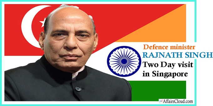 Rajnath Singh's two day visit to singapore