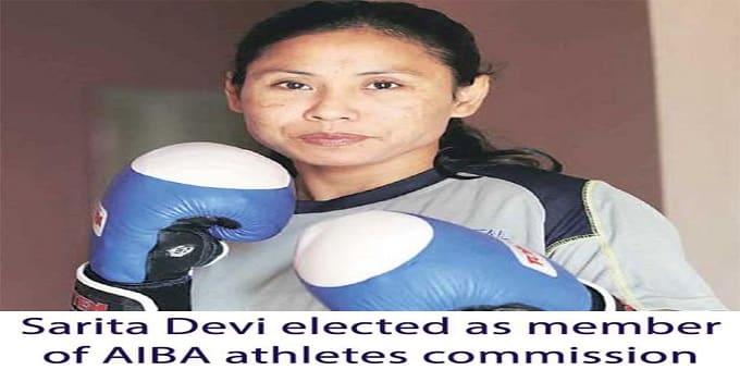 Sarita Devi elected as member of AIBA