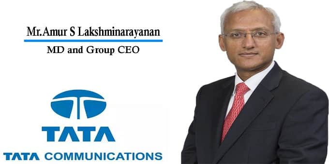 Tata Comm appoints Amur S Lakshminarayanan as MD & CEO