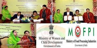 WCD signs with Ministry of food Processing Industries
