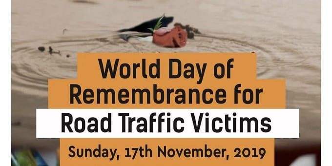 World Day of Remembrance for Road Traffic Victims 2019