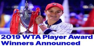 2019 WTA Player of the Yea