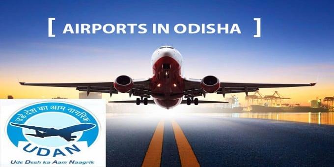 3 Odisha airports under Udan