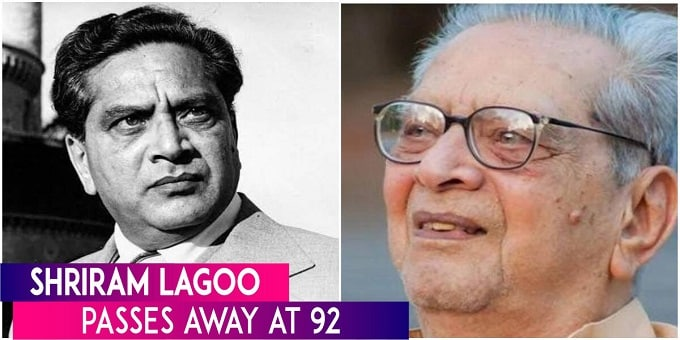 Actor Shriram Lagoo passes away in Pune