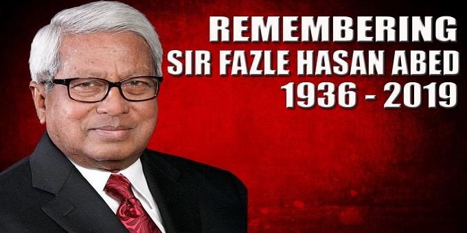 BRAC founder Fazle Hasan Abed dies aged 83