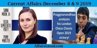Current Affairs Today December 9 2019 (1)