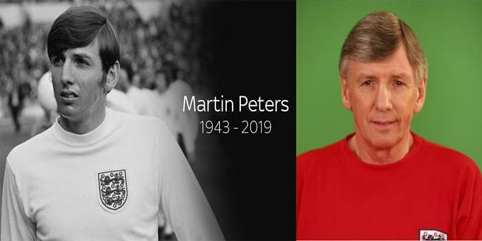 England World Cup winner Martin Peters