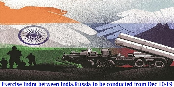 Exercise Indra between India, Russia