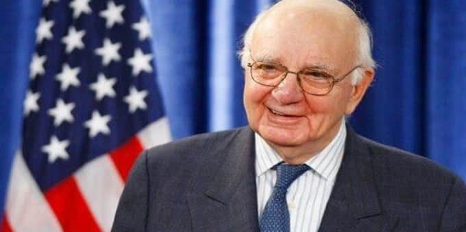 Fed Reserve chief Paul Volcker