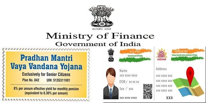 Finance Ministry makes Aadhaar linking mandatory for PM Vaya Vandana Yojana