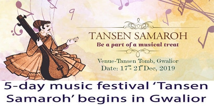 Five-day music festival 'Tansen Samaroh'