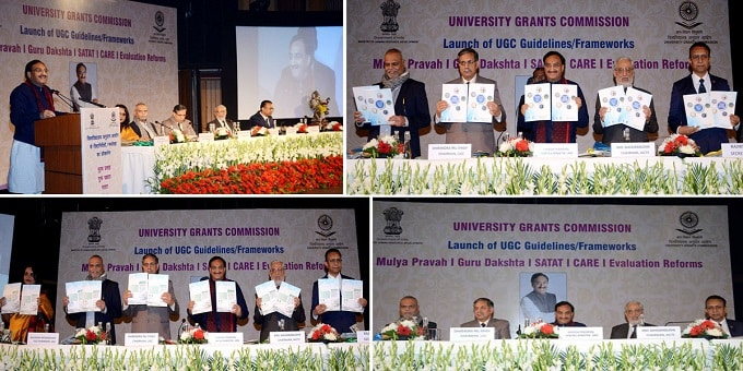 HRD Minister launches five documents