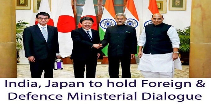 India, Japan hold first 'two-plus-two' dialogue