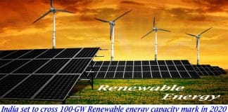 India set to cross 100-GW renewable energy