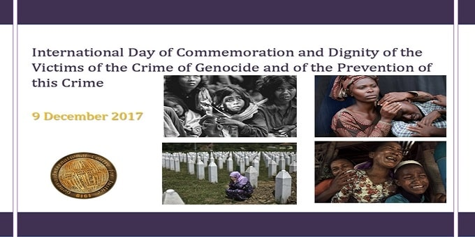 International Day of Commemoration and Dignity of the Victims of the Crime of Genocide