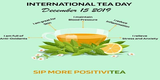 International Tea Day 2019