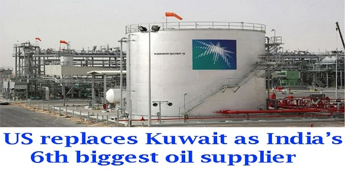 Kuwait as India's 6th biggest oil supplier.new