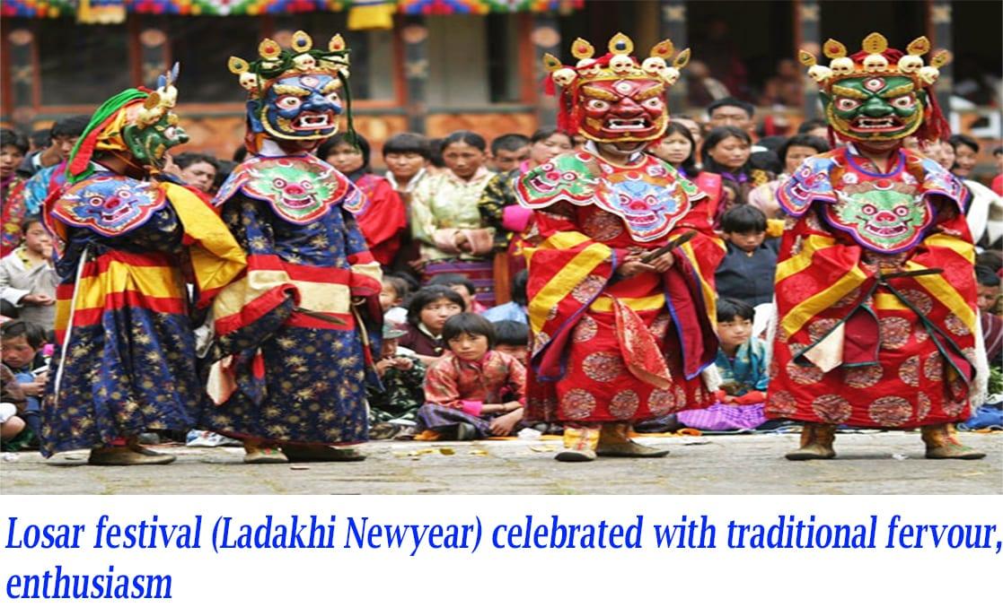 Losar festival(ladakhi newyear)