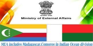 MEA includes Madagascar, Comoros