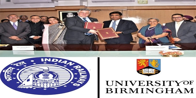 Ministry of Railways signs MoU with University of Birmingham