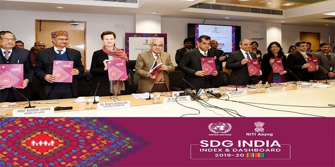 NITI Aayog Releases SDG India Index