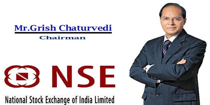NSE appoints Girish Chandra Chaturvedi its chairman