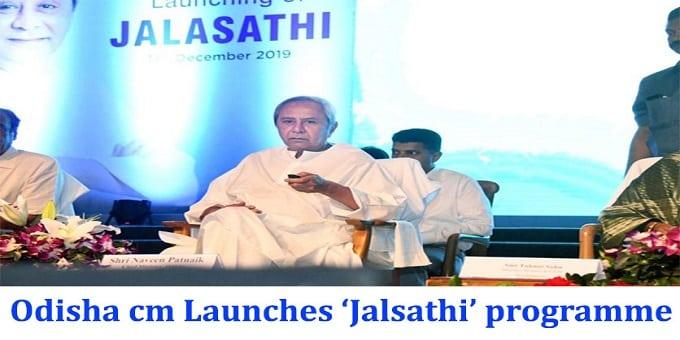 Odisha CM launches 'Jalsathi' programme