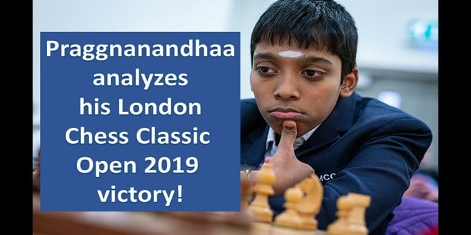 Praggnanandhaa wins London Chess Classic