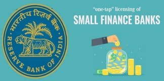RBI 'on-tap' licensing of Small Finance Banks