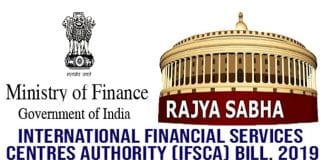 Rajya Sabha passes International Financial Services